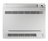 Console indoor ductless air conditioner