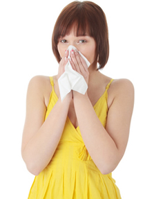 sick person due to poor ventilation