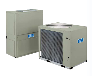 commercial rooftop split air conditioning system